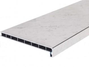 Каррара мрамор глянец/Белый Агат LD-40